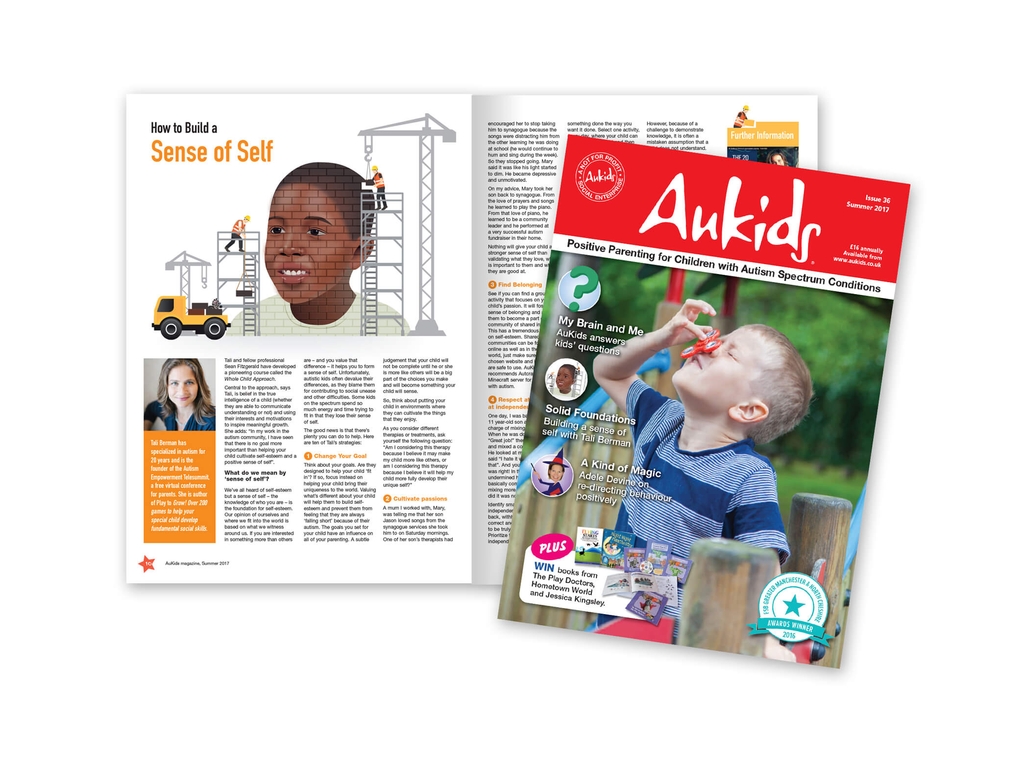 AuKids Magazine - Illustrations & Graphic Design | Periscope