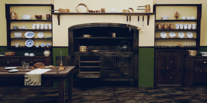 3D modelling for Eon Kitchens