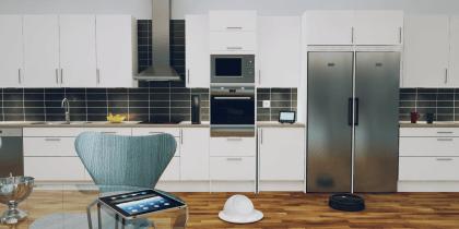 21st Century 3D kitchen study