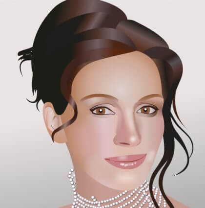 Illustrations iPhone Game 'Celebrity Tiles'