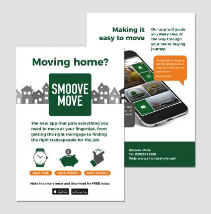 Leaflets for Smoove Move