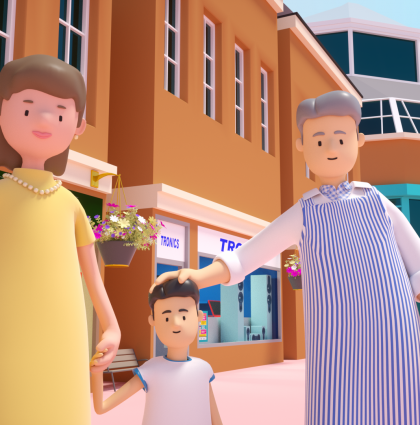 Two animations for Oldham Council to promote the easing of lockdown restrictions